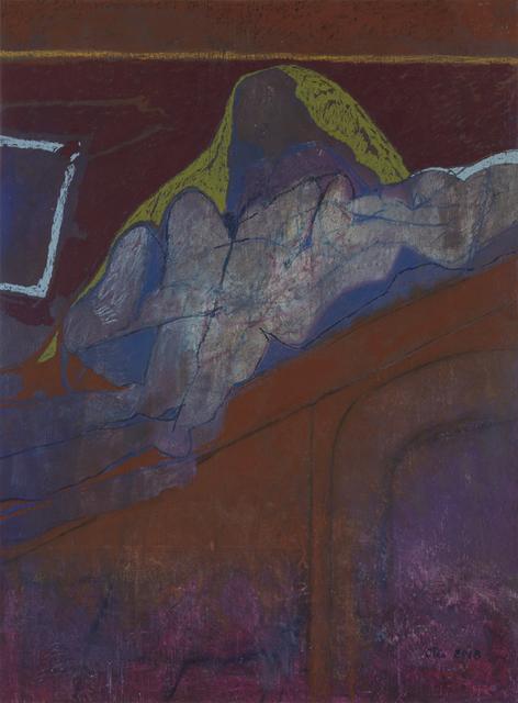 Otis Huband, 'Figure on a Roof', 2018, Valley House Gallery & Sculpture Garden