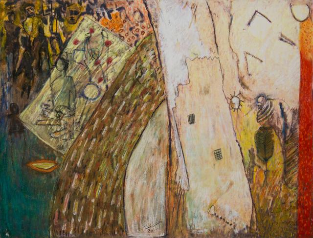 , 'Inspired by the Desert / من وحي الصحراء,' 2017, al markhiya gallery