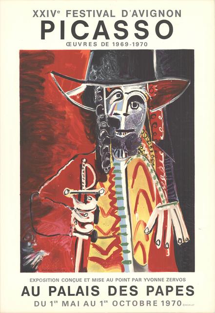Pablo Picasso, 'Festival D'Avignon', 1970, Print, Stone Lithograph, ArtWise