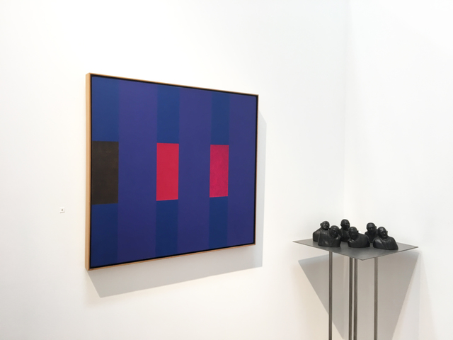 , '3 x 3 (Variant 3 on Blues),' ca. 1973, 203 Fine Art