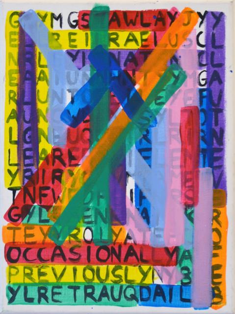 , 'Passe Temps (30x40) 2,' 2015, Le Feuvre & Roze