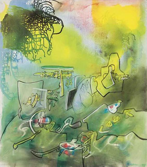 , 'Elasticite du Risible,' 1973, New River Fine Art