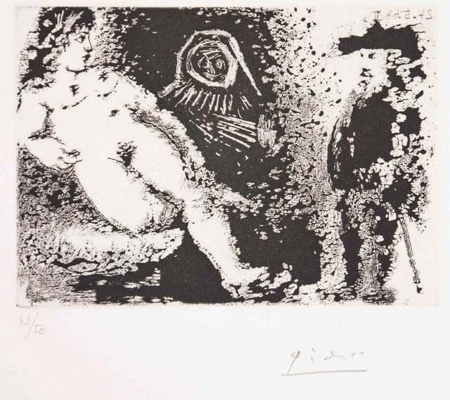 Pablo Picasso, 'Celestine – Fille et vieux client', 1968, Wallector