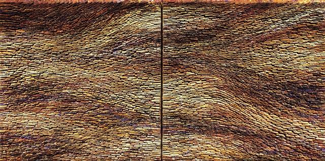 Pat McNabb Martin, 'Down to Earth', 2010-2021, Painting, Cut canvas and mixed media, Avran Fine Art