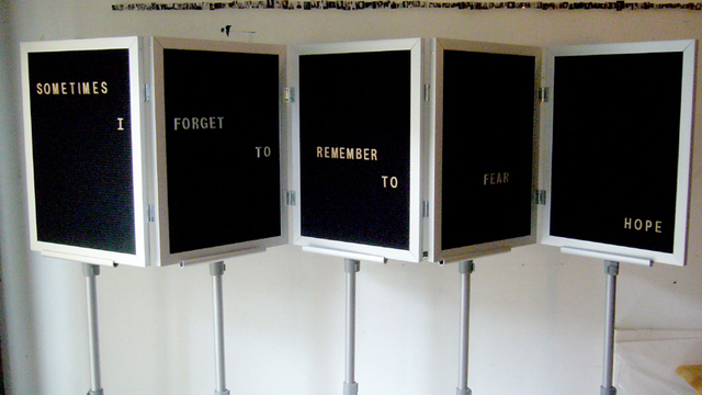 Jennifer Dalton, 'Sometimes I Forget to Remember to Fear Hope', 2008, Winkleman Gallery