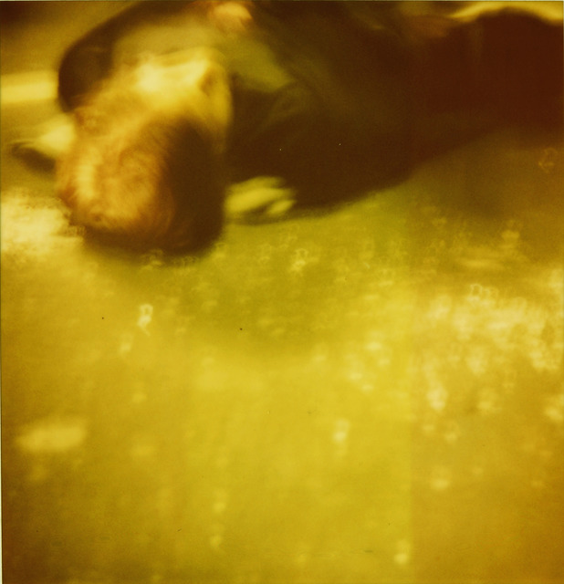 Stefanie Schneider, 'Accident I (Stay) analog, 128x125cm, starring Ryan Gosling', 2006, Photography, Analog C-Print, hand-printed by the artist on Fuji Crystal Archive Paper, based on a Polaroid, not mounted, Instantdreams