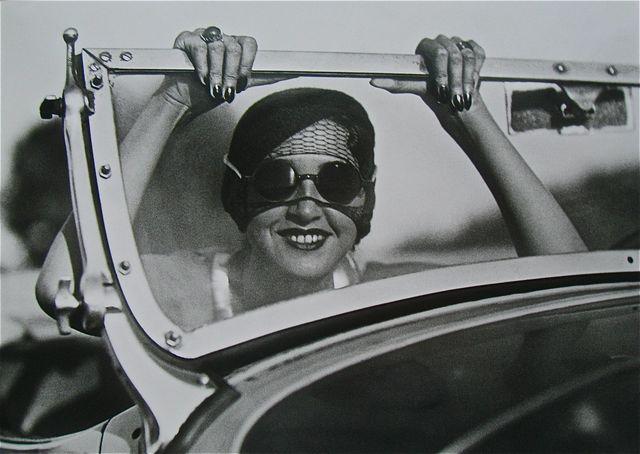 Jacques Henri Lartigue, 'Renee en route Paris-Aix les Bains', 1931, Hyperion Press Ltd.