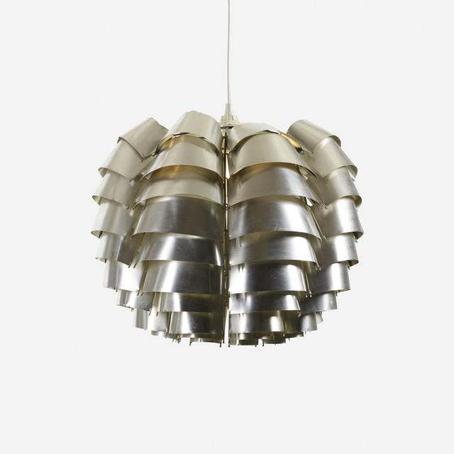 Max Sauze, 'Orion chandelier', 1967, Design/Decorative Art, Aluminum, steel, Rago/Wright
