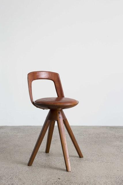 , 'Swivel stool,' 1957, Galleri Feldt
