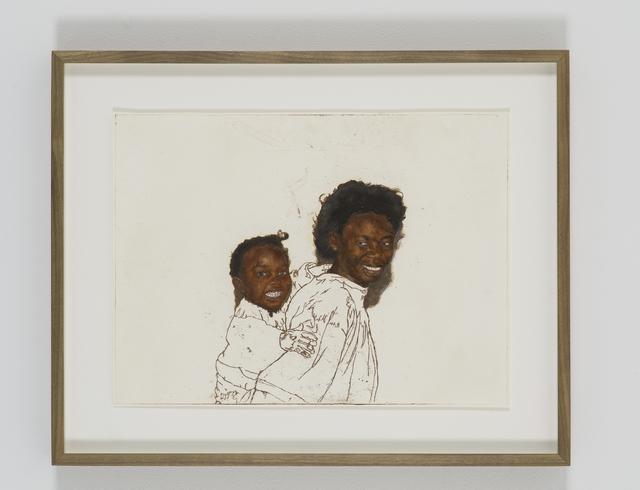 , 'Portrait of Chiedza and Tanya Chikanza,' 2018, Tyburn Gallery