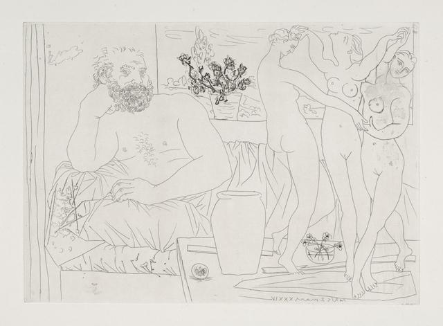 , 'Sculpteur et Trois Danseuses Sculptees,' 1934, Odon Wagner Contemporary