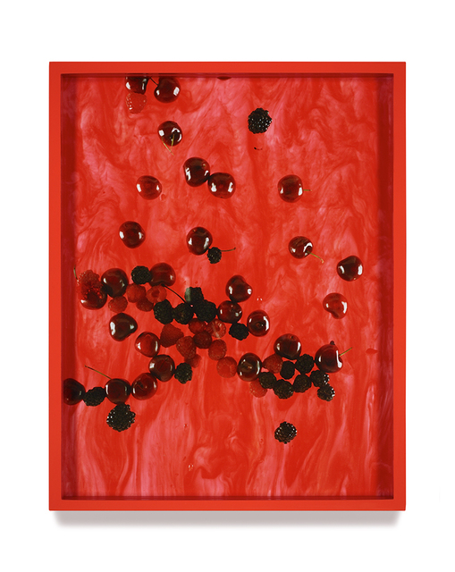 , 'Cherries, Raspberries, Blackberries (Marbled),' 2010, Vancouver Art Gallery