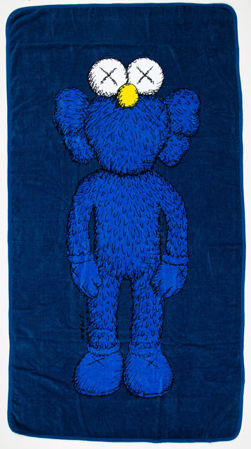 KAWS, 'Companion Beach Towel (Navy) (two works)', 2016, Other, Cotton towels, Heritage Auctions