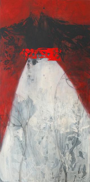 , 'Kimono noir, fond rouge,' 2019, Bogena Galerie
