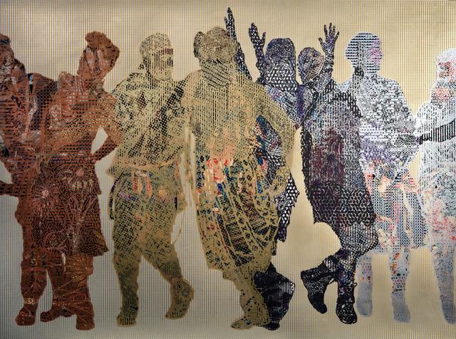 , 'Frieze #9,' 2018, Gazelli Art House
