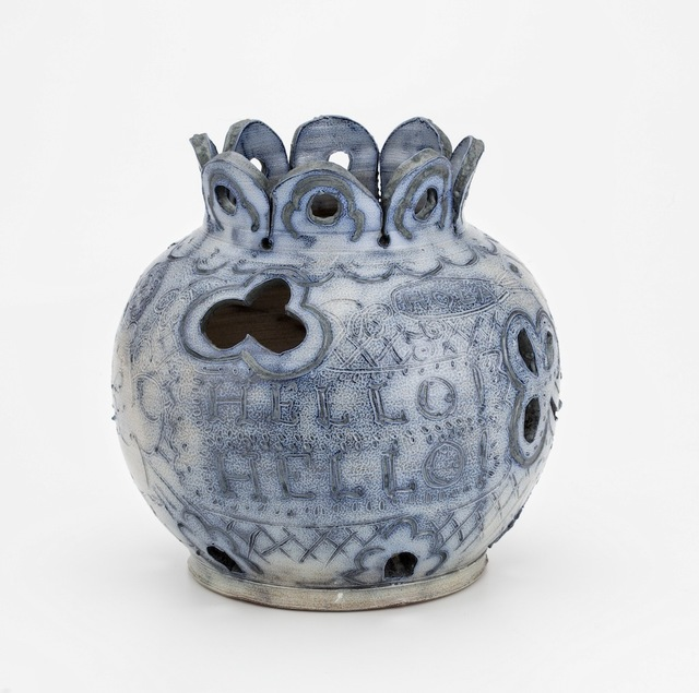 , 'Salt Fired Hola Jar,' 2015, PDX CONTEMPORARY ART