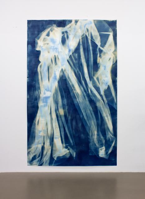, 'Vorhang Blau 16,' 2019, Pilar Corrias Gallery
