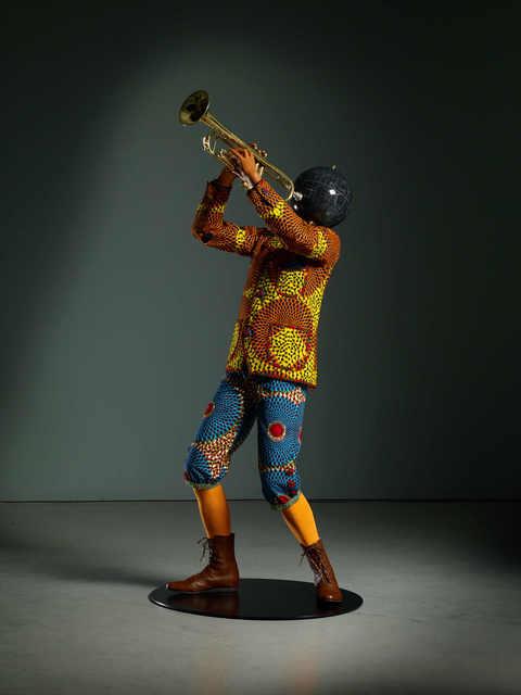 Yinka Shonibare CBE, 'Planets in My Head (Trumpet Boy) ', 2018, TAFETA
