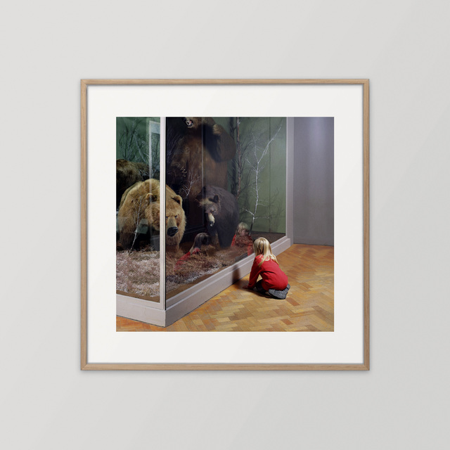 , 'Girl with Bears, Royal Museum of Scotland Edinburgh,' 1999, Hi-Noon