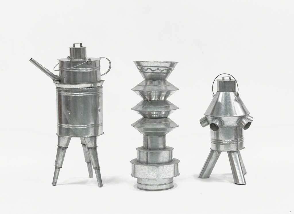 Group of tins