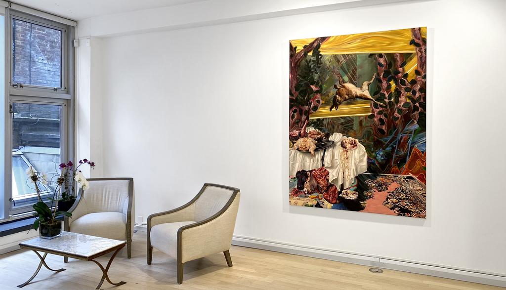 Installation view: Of Folly, Fortune, Glory, Ruin: William Buchina and Christina Nicodema