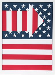 Paul von Ringelheim, 'American Flag III,' 1979, Heritage Auctions: Holiday Prints & Multiples Sale