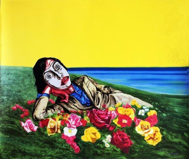 Zeng Fanzhi, 'Untitled (reclining figure)', 1998, Digard Auction