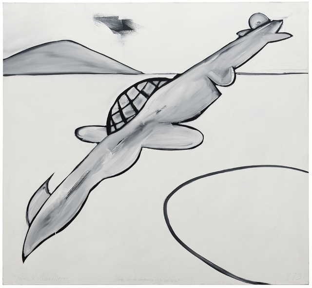 , 'Flying over the Gray Mountain,' 1973, Häusler Contemporary