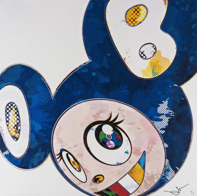 Takashi Murakami, 'And Then X 6 (Lapis Lazuli: The Superflat Method)', 2003, Forum Auctions