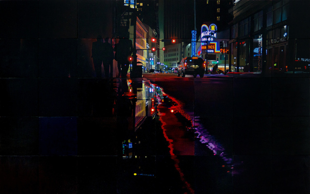 Jeff Cohen, 'New Orleans Night Puddle', 2019, Shain Gallery