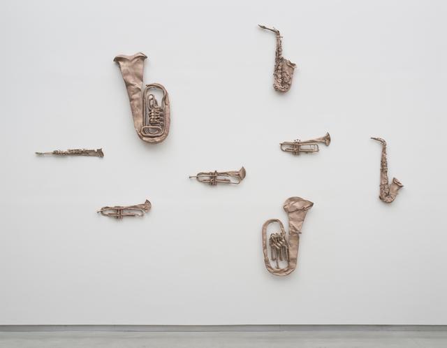 Valentin Carron, 'Inca, cargo, goal,' 2012, David Kordansky Gallery