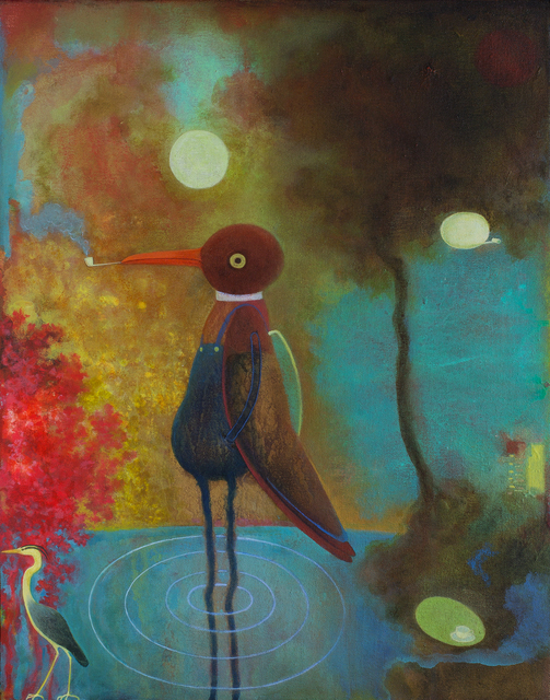 , 'Decoy,' 2018, Rebecca Hossack Art Gallery