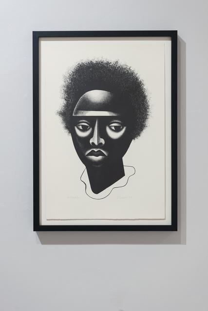, 'Black Girl,' 2004, Burning in Water