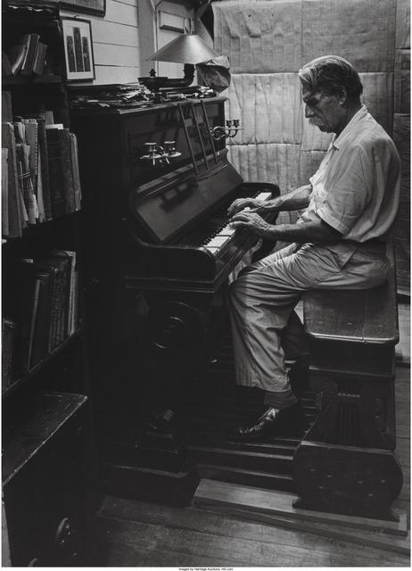 W. Eugene Smith, 'Albert Schweitzer at an organ', 1954, Heritage Auctions