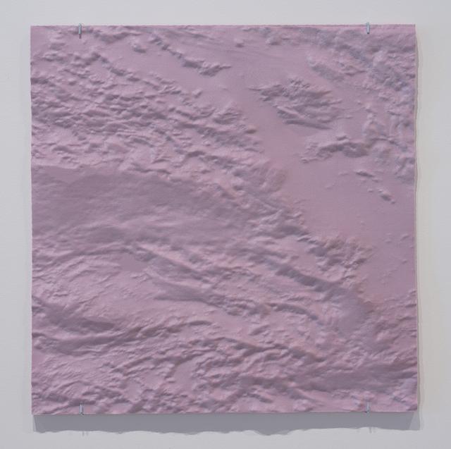 David Bowen, 'the other side (3-18-19)', 2019, Sculpture, CNC cut polyisocyanurate foam, Joseph Nease Gallery