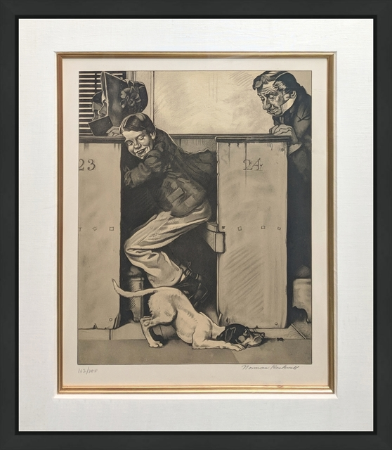 Norman Rockwell, 'CHURCH (SEPIA)', 1976, Gallery Art