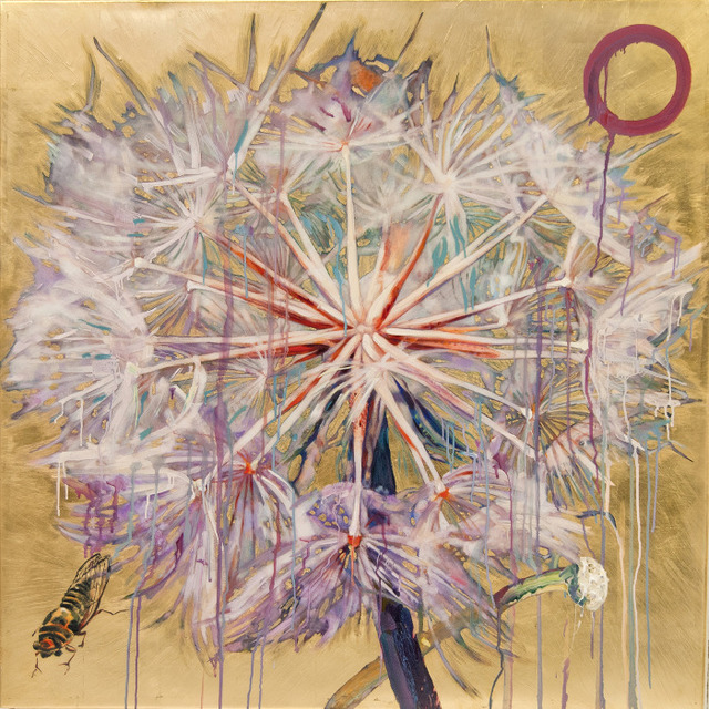 , 'Dandelion with Cicada 4/9,' , Gail Severn Gallery