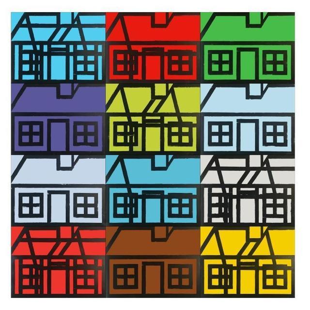 , 'Half-Built Apartments,' 2018, Alan Cristea Gallery