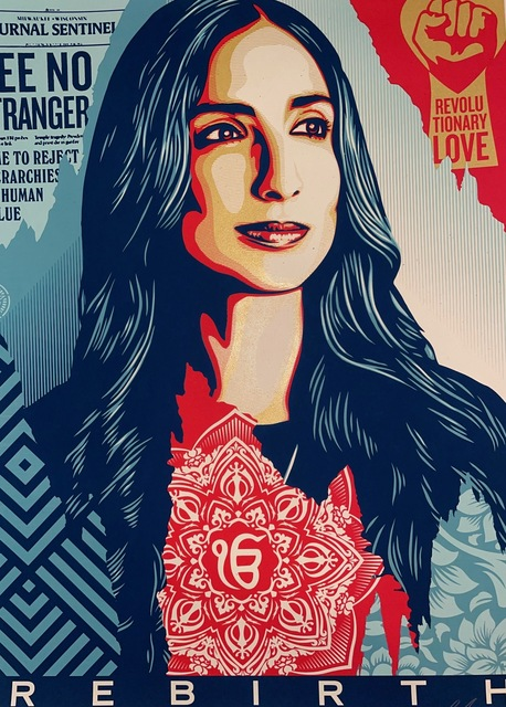 Obey Giant says - Tryptique Obey 1970 Shepard Fairey Silkscreens