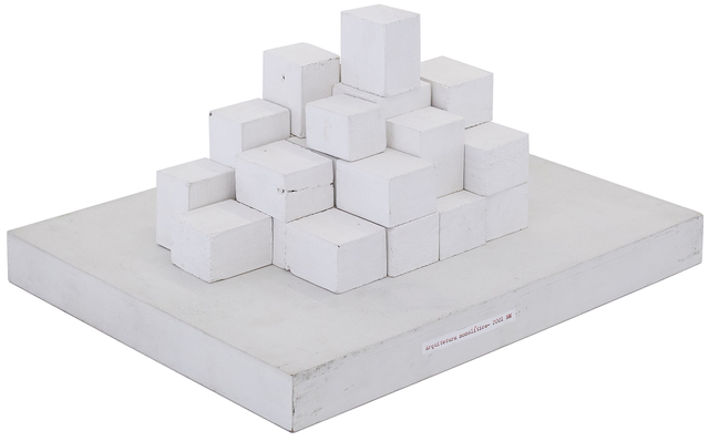 , 'Arquitetura Monolítica,' 2001, Galeria Pilar