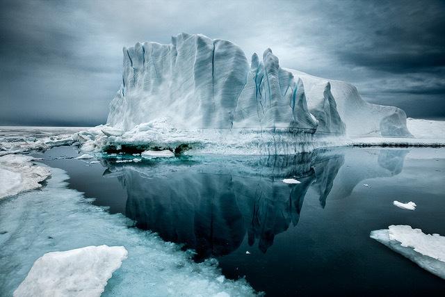 , 'Iceberg XXI, Greenland,' 2010, Bernheimer Fine Art