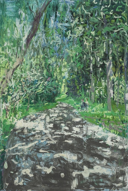 , 'Path in Wangjing Park No.1,' 2014, PIFO Gallery