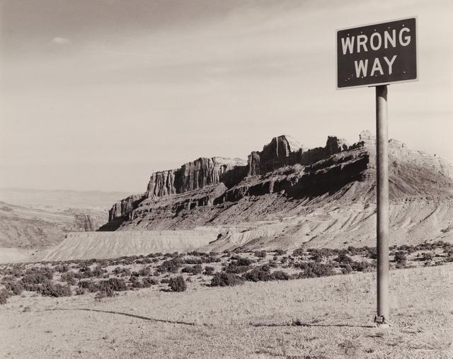 , 'Wrong Way, Utah,' 1994, Seagrave Gallery