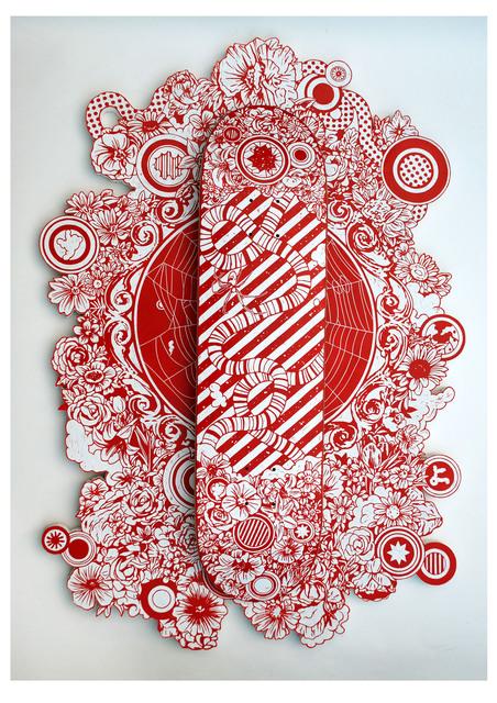 , 'Spider Silk,' 2012, Micheko Galerie