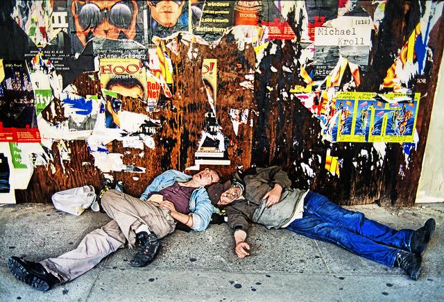 Mitchell Funk, 'Drunks Lower East Side Manhattan', ca. 1998, Robert Funk Fine Art