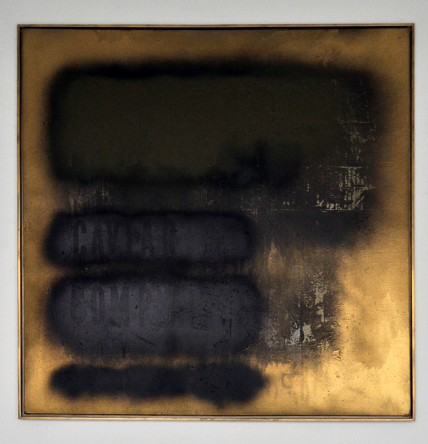 , 'Erased Memory (Gold Standard),' 2014, The Flat - Massimo Carasi