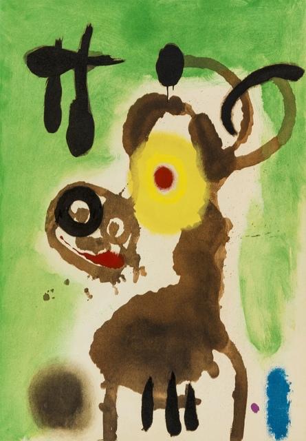 Joan Miró, 'Four Pochoirs from 'Cartones' (Cramer 103)', 1965, Forum Auctions