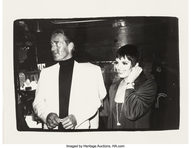 Andy Warhol, 'Halston and Liza Minnelli', circa 1980, Heritage Auctions