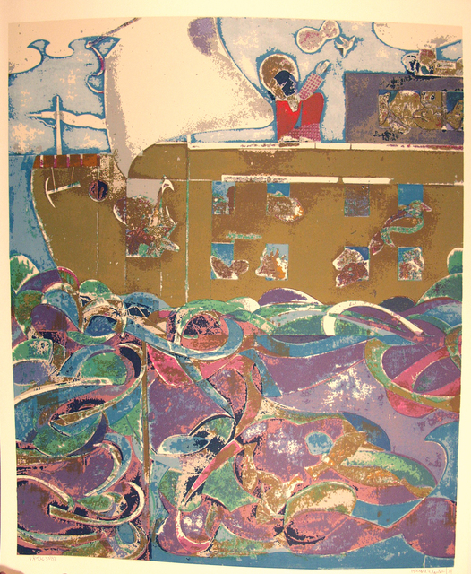 Romare Bearden, 'Noah, The Third Day (Prevalence of Ritual Series) ', 1974, ACA Galleries
