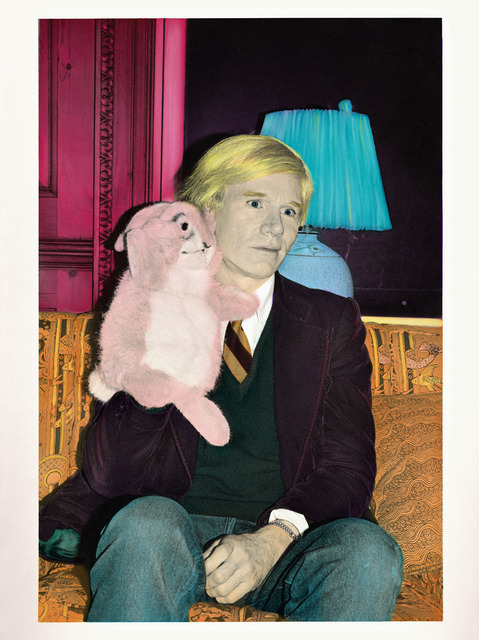 , 'Andy Warhol and the rabbit ,' 2015, Galerie Pixi - Marie Victoire Poliakoff